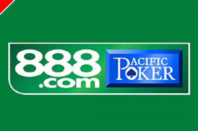 888.com Schriftzug