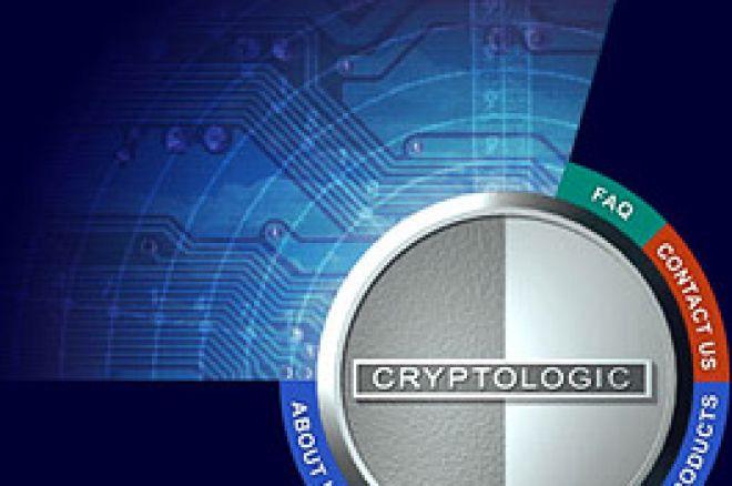 Cryptologic Schriftzug