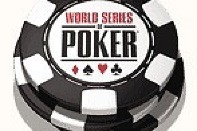 World Series of Poker - Order of Finish after Day 0001