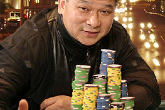 Johnny Chanは、今までで最も大きいポーカーレースをリードしています。 0001