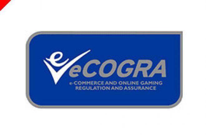 """ポーカー最高の監視人の名は""""eCOGRA"""" 0001"""
