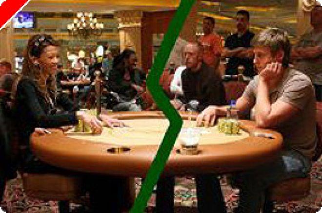 Poker Cage Match: ライブゲームの女王 vs インターネットのキング 0001