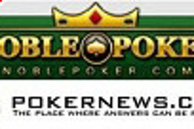 Pokernews和Noble Poker联合举行的$5000免费券游戏的结果是:玩家得到收益 0001