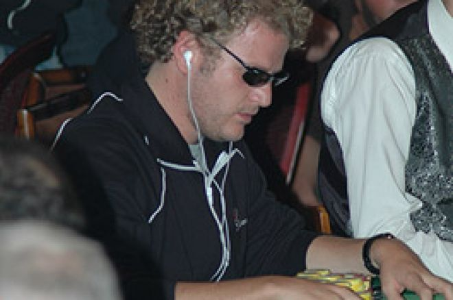EPT Pokerstars Barcelone  2006- Le Français David Layani chip leader 0001