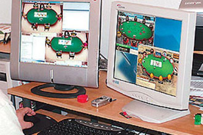在线扑克周末: 在 Overlay-Laden UBOC主赛事上的两个玩家 0001