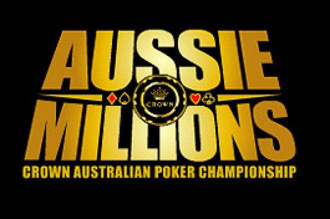 Aussie Millions delrapport  - evenemang 1-3 0001