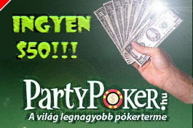 Pénzeső a Hu.PokerNews.Com és a PartyPoker Promóciójában! 0001