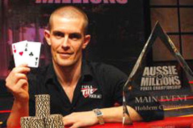 Gus Hansen voittaa Aussie Millions-turnauksen 0001
