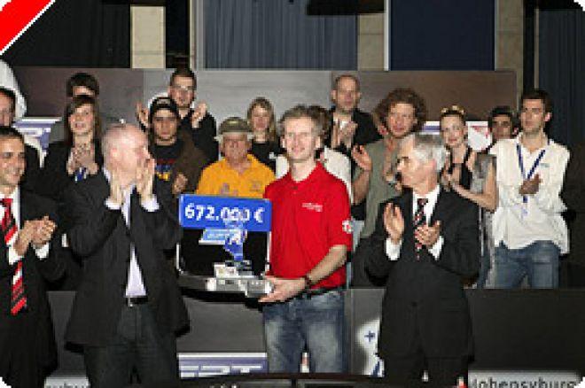 Andreas Hoivold  remporte l'EPT Dortmund 2007 0001
