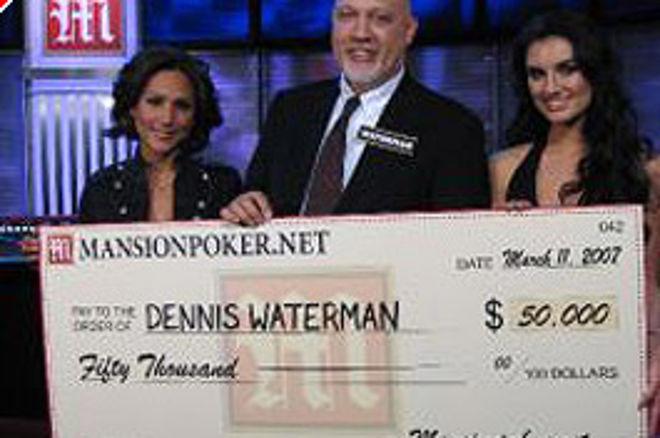 扑克新闻的专栏作者Dennis Waterman赢得扑克圆顶屋冠军 0001