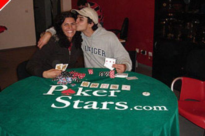 """Maria do Céu Aplica """"Tratamento"""" ao Filho – Torneio Poker Ilha da Madeira 0001"""