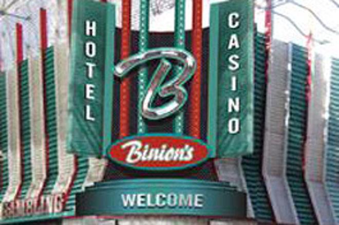 拉斯维加斯高额奖金扑克赛事设在Binion 0001