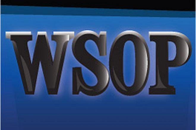 WSOP Schriftzug