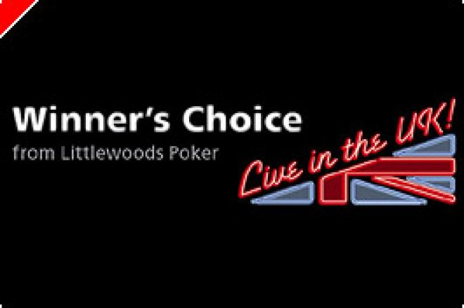 Winner's Choice at Littlewoods Poker 0001