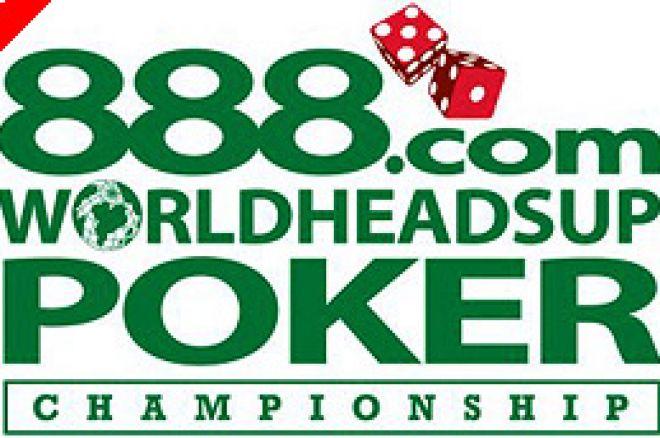 888.com to Sponsor World Heads Up Poker Champs 0001