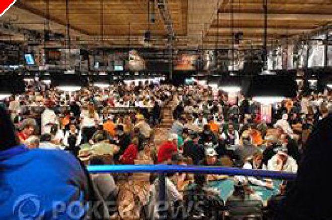 WSOP 2007: Event #3 1.500 No Limit Hold em dag en - Rekorder ble brutt og folk kom i pengene 0001