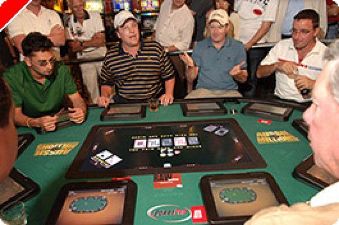 """Der Pokertisch der Zukunft ganz ohne Dealer oder Was der """"Pokerpro""""®  Table bieten... 0001"""