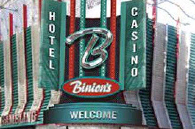 UK PokerNews Review: Binions Gambling Hall, Las Vegas 0001