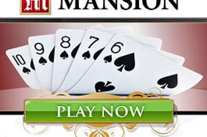 Mansion Poker - Mais Torneios com Prémios Garantidos 0001