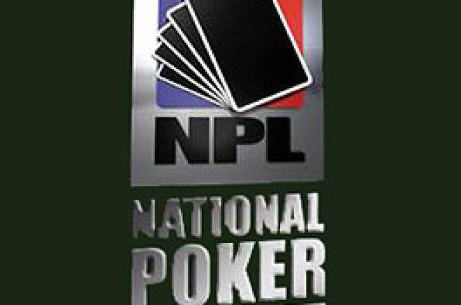 National Poker League : coup d'envoi le 12 août 2007 à Londres 0001