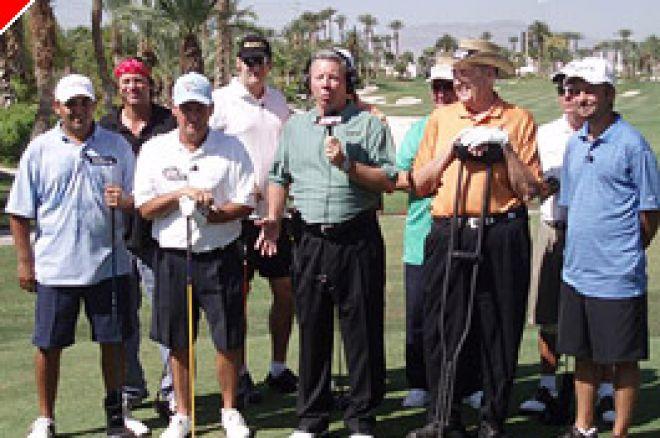 Prvi krog golf turnirja »Doyle Brunson & Dewey Tomko Invitational« je uspel 0001