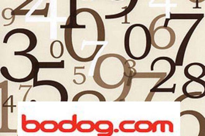 Gerador numérico da Bodog Poker recebeu Certificação 0001