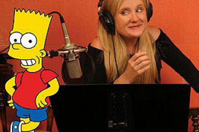 Bart Simpson 之声的Nancy Cartwright要主持 Monte Carlo 之夜和扑克锦标赛 0001