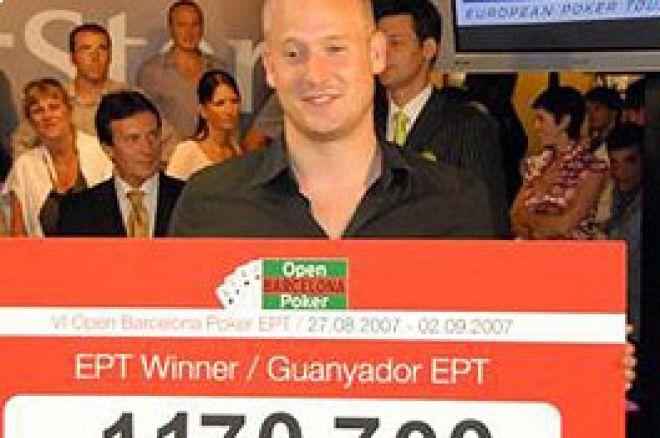 Sander Lylloff se lleva el título de campeón del EPT Barcelona 0001