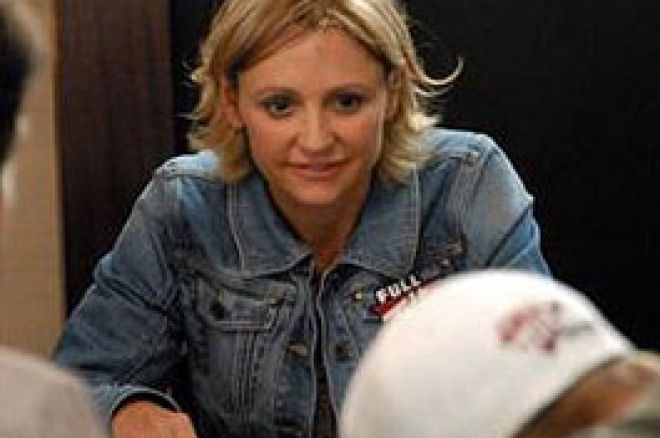 WSOP Europe 2007 - Jennifer Harman chip leader de la finale du HORSE 0001
