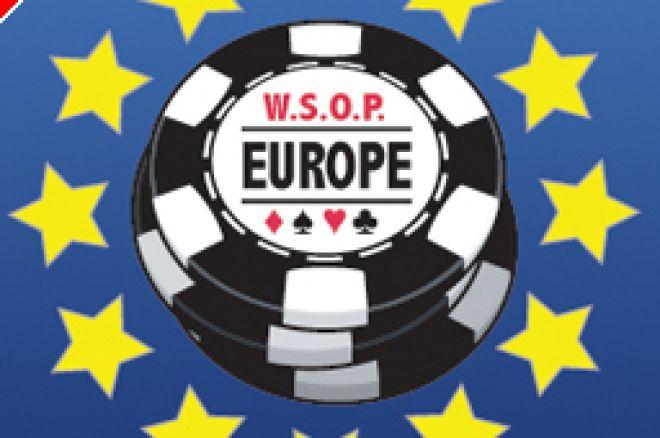 WSOP Europe 2007 - £10,000 NLHE: Janne Lamsa mène, Patrick Bruel passe le Day 1a 0001