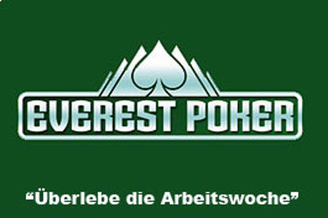 Überlebe die Arbeitswoche - Neue Promotion von Everest Poker 0001