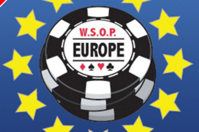WSOP Europe 2007 - La table finale du Main Event en direct 0001