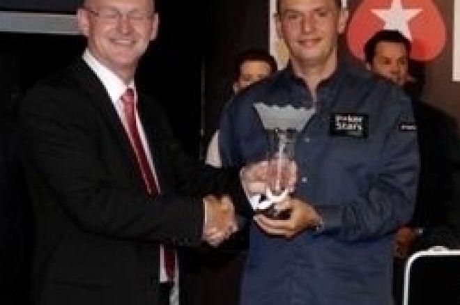 Svensken Fredrik Haugen slutade på 5:e plats i EPT London 0001