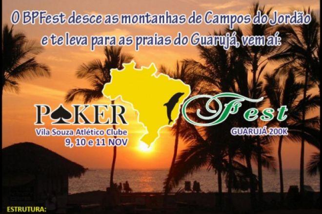 Brasil Poker Fest no Guarujá – 9 a 11 Novembro - Brasil 0001