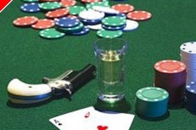 Mees tapeti koduse pokkerimängu ajal 0001