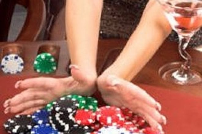 女性ポーカースポットライト - Jan Fisher 0001
