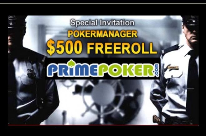 Freerolls na Prime Poker 0001