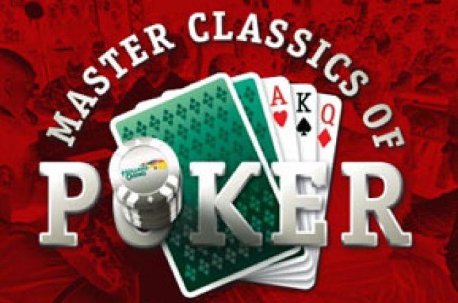 Élő közvetítés Amszterdamból - Master Classics of Poker €5,100 Main Event! 0001