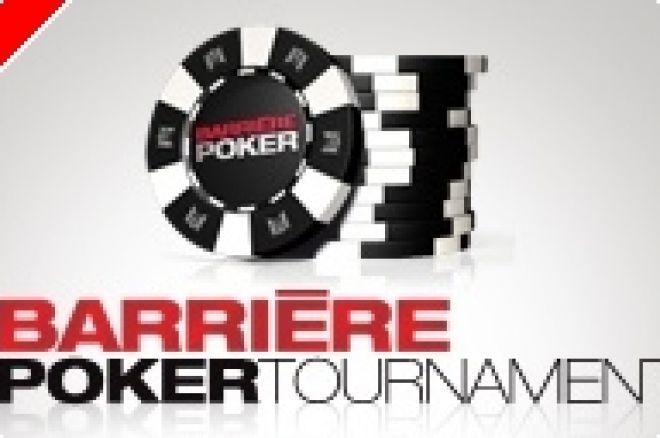 Tournoi Live Poker - Le Barrière Poker Tournament de Deauville débute mercredi 14 novembre 0001