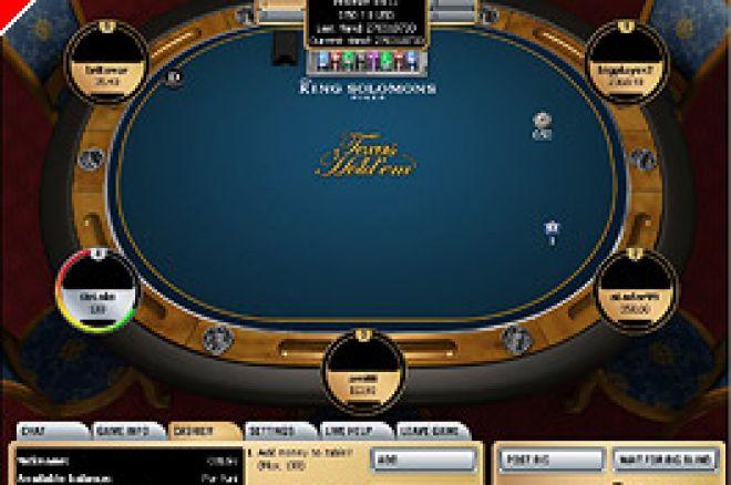King Solomon Poker regala 20.000 Euro 0001
