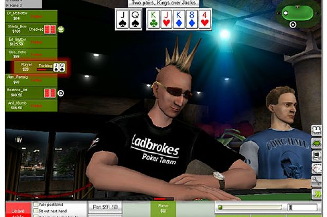 Ladbrokes Poker Launch 3D Poker Software 0001