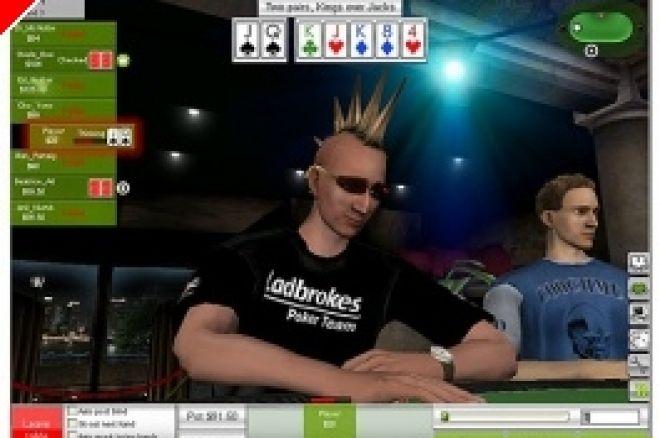 Ladbrokes Poker Пуска 3D покер софтуер 0001