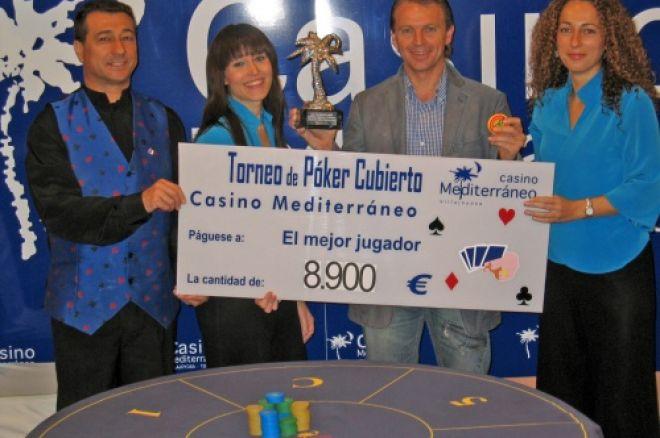 Gabino Rebelles se lleva el torneo de cubierto en el Casino de Villajoiosa 0001