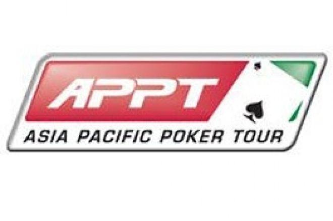 """Tournoi APPT Poker Stars Macau 2007 - Le français """"Elky"""" se hisse en table finale du Main... 0001"""