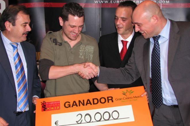 Manuel Mazo se lleva el CEP de Murcia 0001