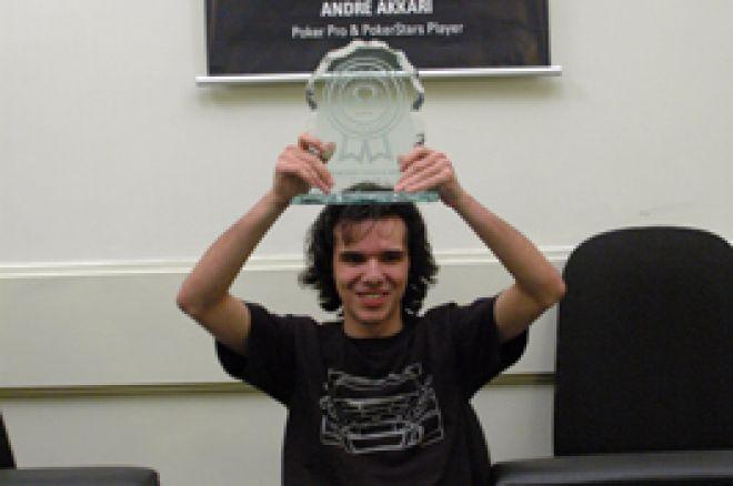 Leonardo Perrone Campeão - 100K Garantidos do Omega Texas Clube 0001