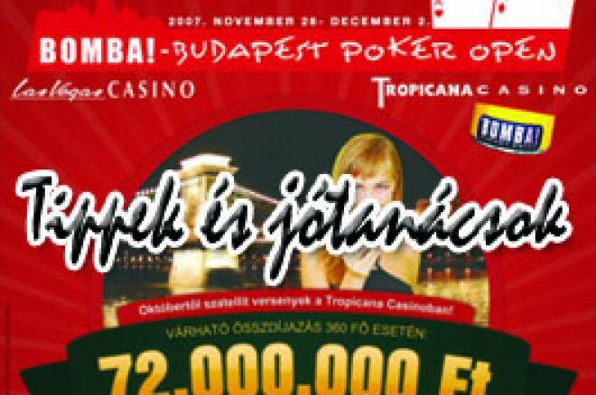 Tippek és jótanácsok a Budapest Poker Open résztvevői számára 0001