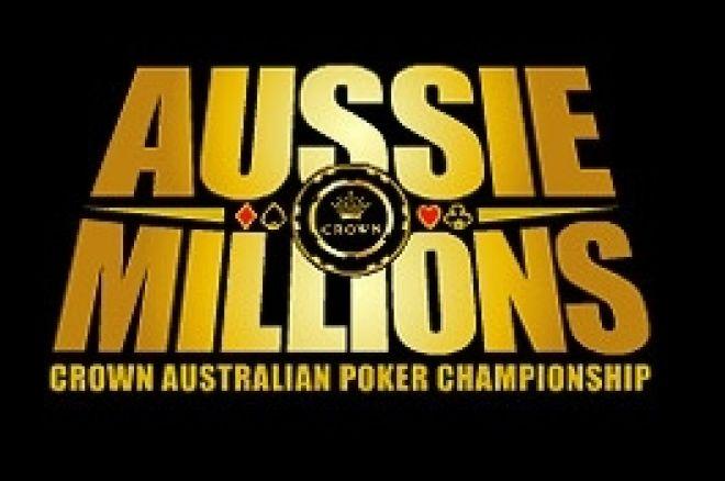 Salles Internet - Plus de 60 000$ de Freerolls exclusifs Aussie Millions 0001