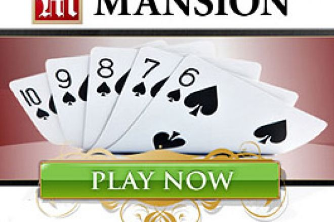 Mansion Poker com Freeroll de $15,000 Todos os Meses 0001