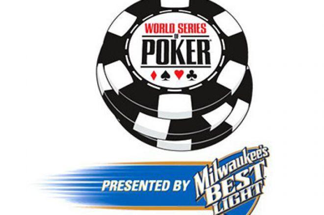 2008 WSOP - Hivatalos Versenynaptár 0001